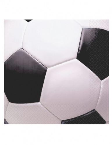Voetbal ballen servetten