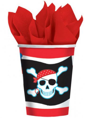 Set piraten bekers
