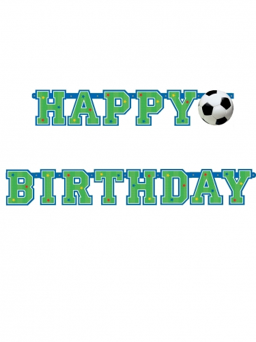 Birthday Voetbal Slinger