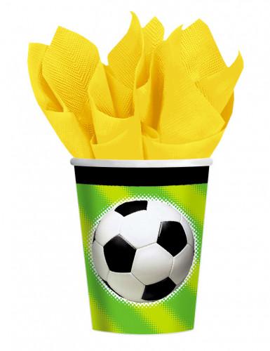 Plastic voetbal bekertje