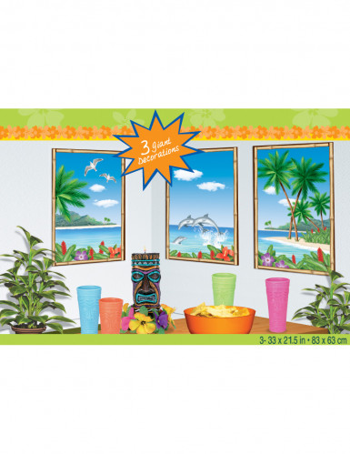 Paradijs muur decoratie