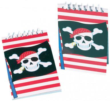 Mini piraten bloc notes