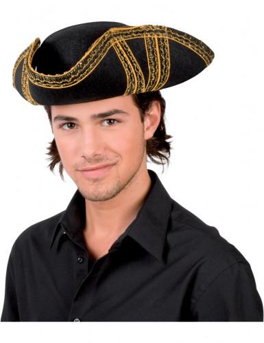 Realistische piraten hoed voor volwassenen
