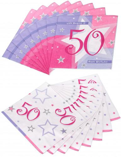 16 papieren servetten 33 x 33 cm