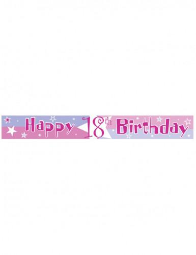 Verjaardag slinger met leeftijden