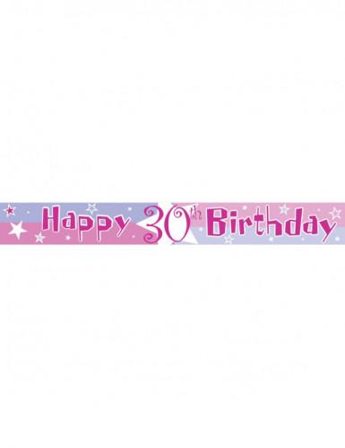 Verjaardag slinger met leeftijden-3