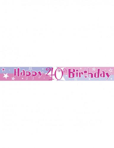 Verjaardag slinger met leeftijden-2
