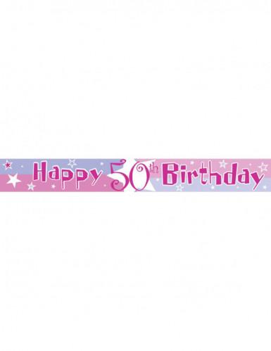 Verjaardag slinger met leeftijden-1
