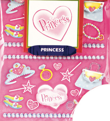 Prinsessen stickers