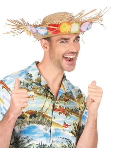 Rieten Hawaii hoed-2