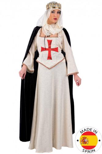 Prinses kruisvaarder kostuum voor vrouwen - Luxe