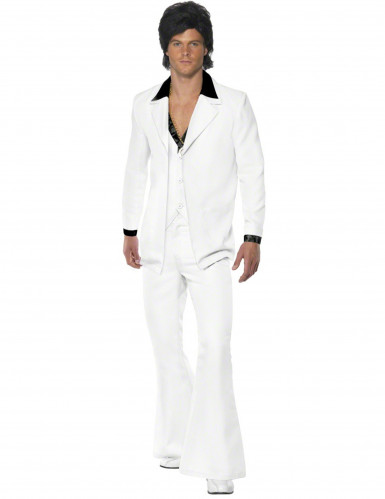 Witte disco feestkleding voor heren