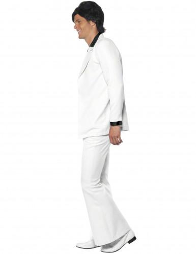 Witte disco feestkleding voor heren-1