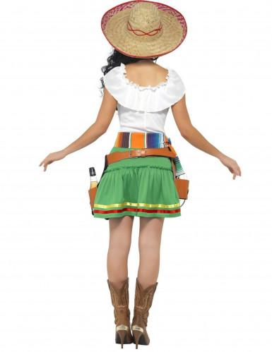 Mexicaanse serveerster kostuum voor vrouwen-1