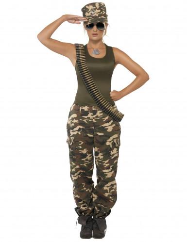 Militair kostuum voor dames