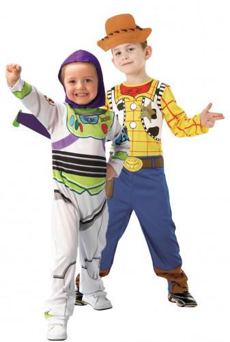Buzz Lightyear™ en Woody™ koppelkostuum voor kinderen