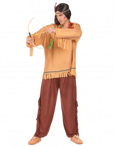 Klassiek beige indianen duo kostuums-1