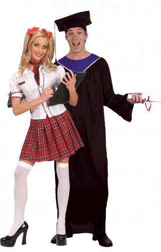 Afgestudeerde studenten kostuum voor koppels