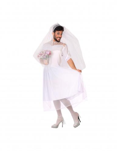 Humoristische bruid kostuum voor mannen