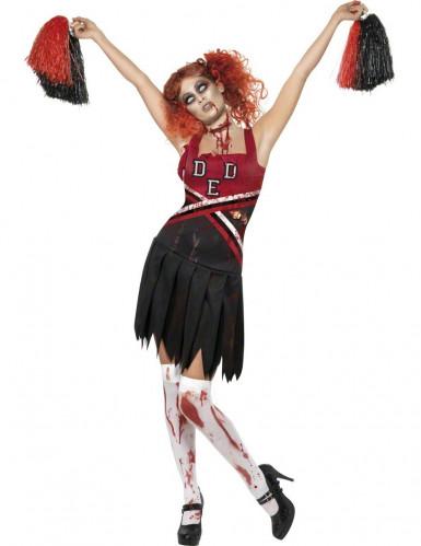 Zombie Cheerleader kostuum voor dames Halloween outfit