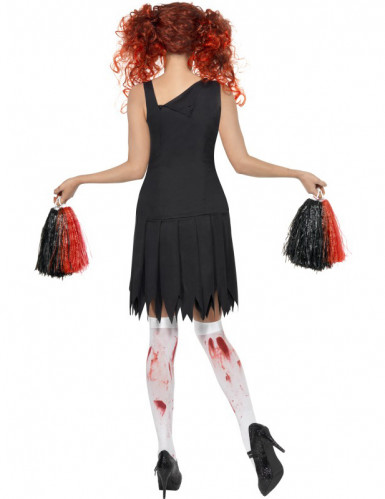 Zombie Cheerleader kostuum voor dames Halloween outfit-1