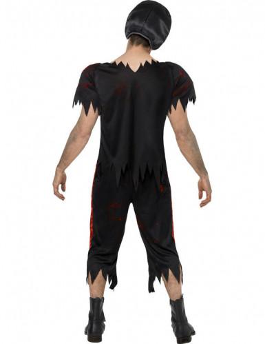 American football zombie kostuum voor heren Halloween pak-1
