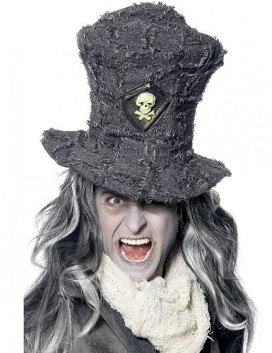 Oude hoge skelet hoed voor volwassenen