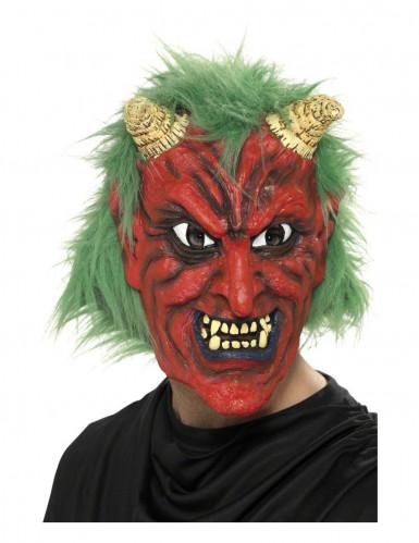 demon masker voor volwassenen halloween artikel. Black Bedroom Furniture Sets. Home Design Ideas