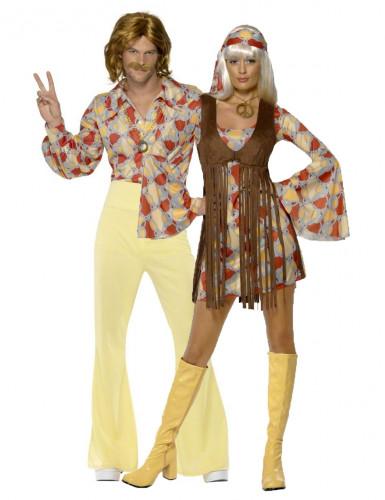 Hippie duo kostuums