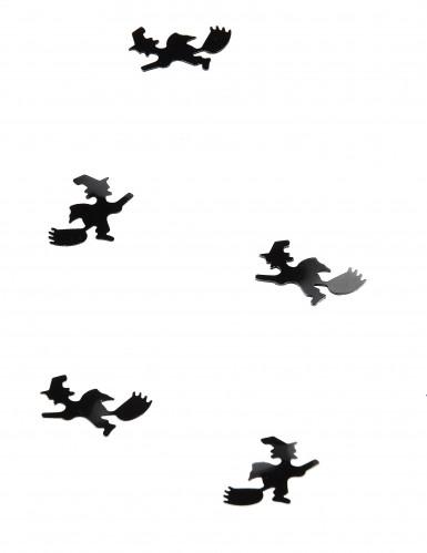 Tafel confetti Halloween heks