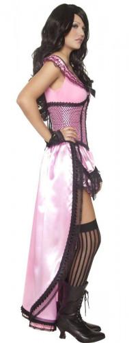 Sexy saloon danseres kostuum voor vrouwen-1