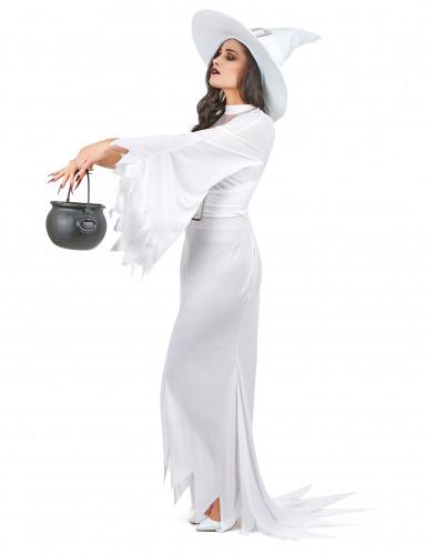 Wit heksenkostuum voor vrouwen-1
