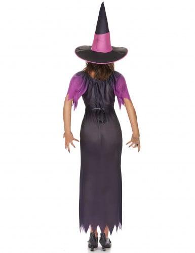 Paarse heks outfit met kleurverloop voor dames-2