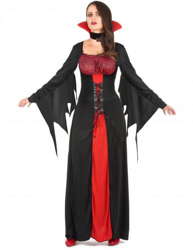Spook vampier kostuum voor vrouwen