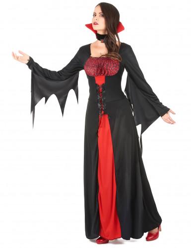 Spook vampier kostuum voor vrouwen-1