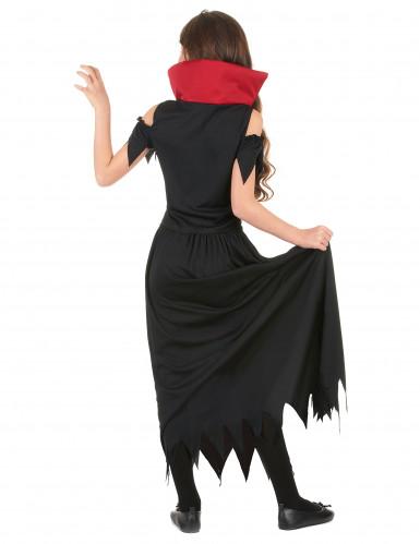Zwart vampierskostuum voor meisjes-2