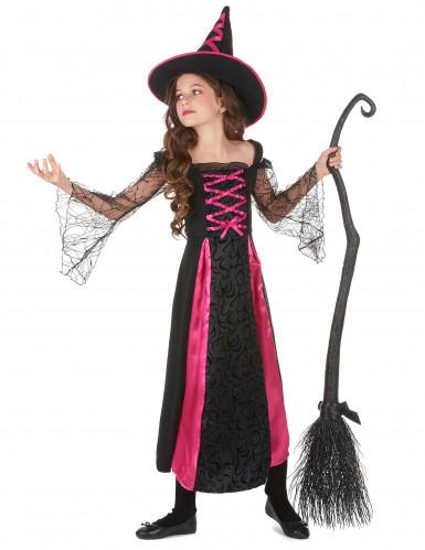 Heksen Halloween kostuum voor meisjes-1