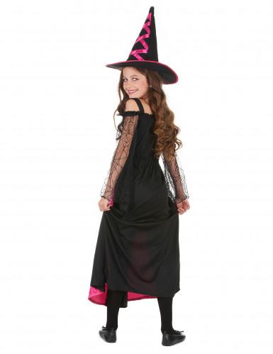 Heksen Halloween kostuum voor meisjes-2