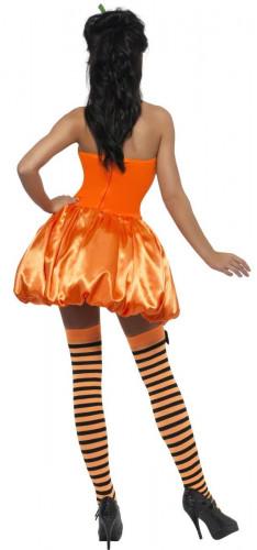 Verkleedkostuum sexy pompoen voor dames Halloween artikel-1