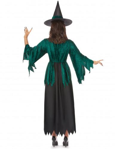 Groene heks kostuum voor vrouwen-2
