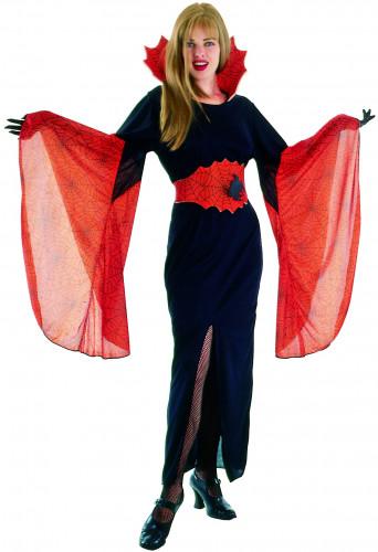 Oranje vampier kostuum voor vrouwen