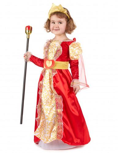Koningin kostuum voor meisjes-1