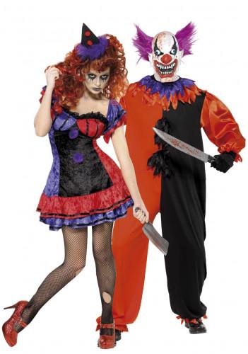 Angstaanjagend Halloween clowns
