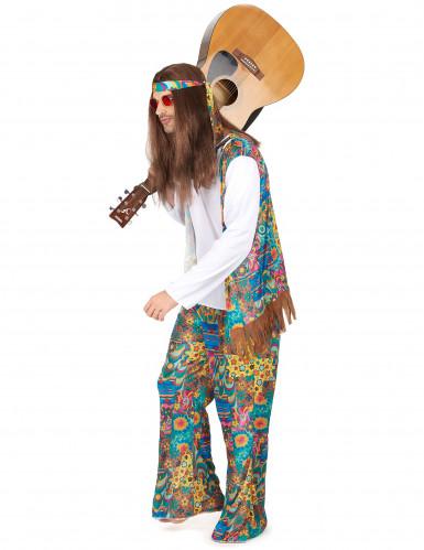 Jaren 60 psychedelisch hippie kostuum voor heren-1