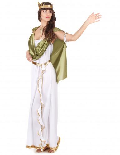 Driekleurige Griekse godin outfit voor vrouwen-1