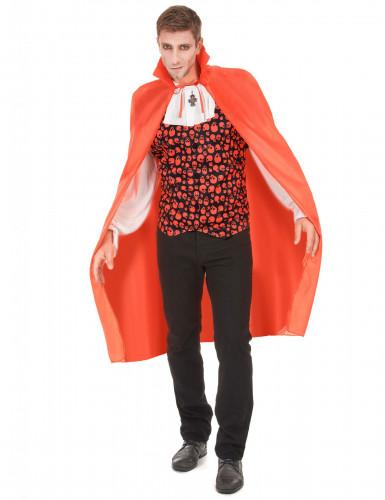 Rode vampier cape voor volwassenen