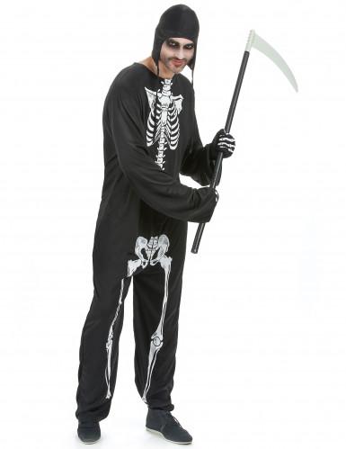 Skelet kostuum voor mannen