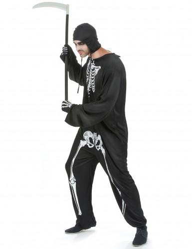 Skelet kostuum voor mannen-1