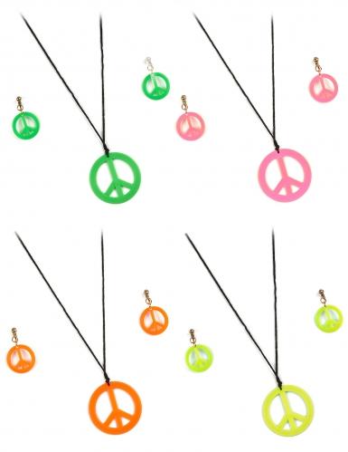 Hippie accessoires set voor volwassenen
