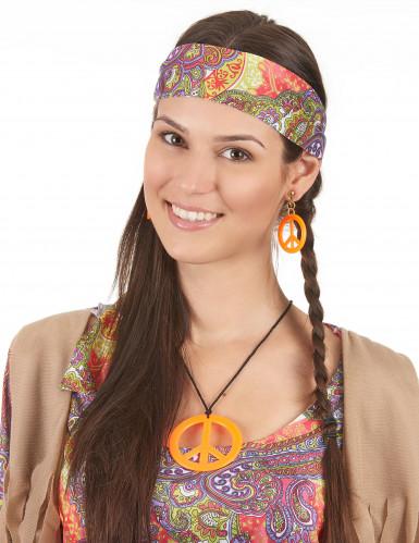 Hippie accessoires set voor volwassenen-4
